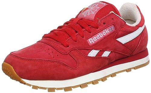 ab1f6f1ba23 Reebok CL LTHR Vintage J97408 - Zapatillas de Deporte de Cuero para Hombre