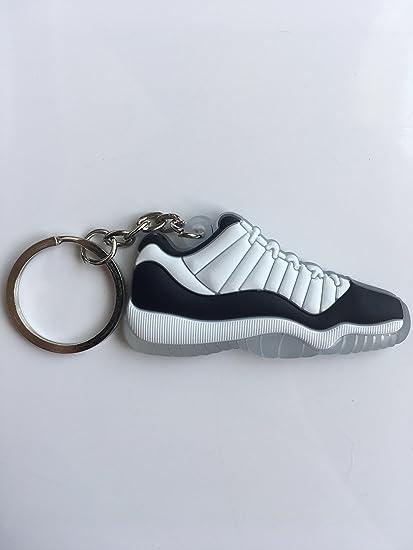 352181fc6bb188 Amazon.com   Jordan Retro 11 Low Concord Sneaker Keychain Shoes Keyring AJ  23 OG   Sports   Outdoors