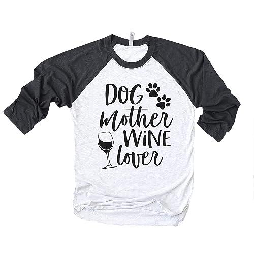 Dog Mother Wine Lover Shirt Funny Wine Lover Shirt Mom Shirt Funny Dog Mom Shirt Dog Mom Shirt Wine Lover Dog Mom Shirt Fur Mama Shirt