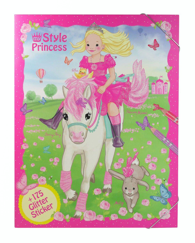 Depesche 8253 Malbuch My Style Princess Amazon De Spielzeug