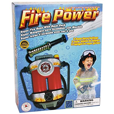 Aeromax Fire Power Super Fire Hose with Backpack: Clothing