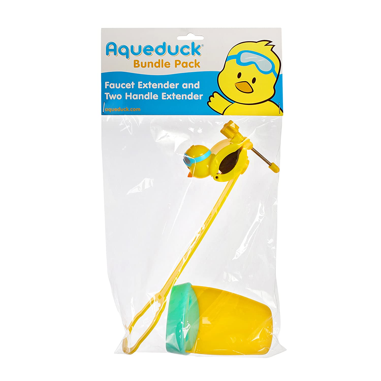 Amazon.com : Aqueduck Faucet Extender - Sink Handle Extender, Safe ...
