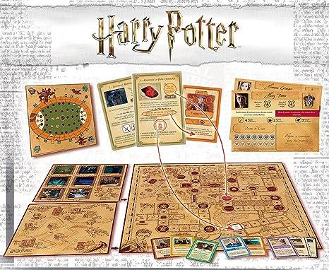 Borras-Un Año en Hogwarts Mesa Harry Potter, 4 Modos de Juegos Distintos, a Partir de 7 años, Multicolor (18357): Amazon.es: Juguetes y juegos