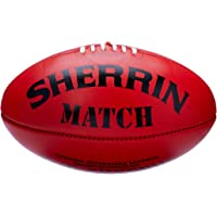 Sherrin Match Quality Football, Red, Size 5