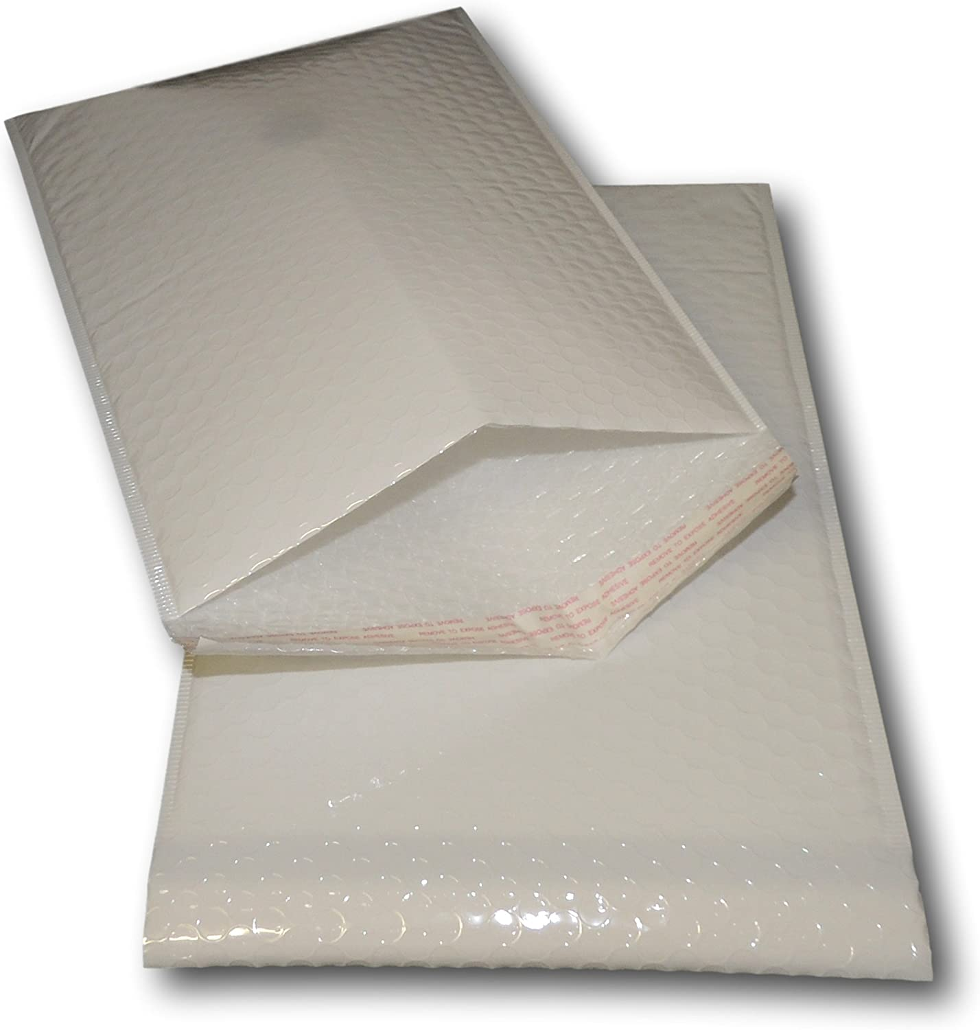 Multiple Sizes Available EPOSGEAR 100 Pack White Poly Polyethylene Gloss Bubble Padded Mailing Postage Gift Envelope Mailer Bags Quick and Easy Alternative to Gift Wrap A4//C4 340mm x 240mm