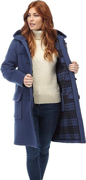 Original Montgomery Womens Long Duffle Coats Baby Blue