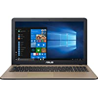 "ASUS VivoBook D540NA-GQ059T - Ordenador portátil de 15.6"" (Intel Celeron N3350, 4GB RAM, 500GB HDD, Windows 10 Home) chocolate negro - Teclado QWERTY Español"