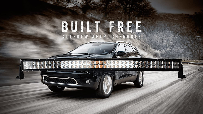 72W CREE phare de travail LED lampe voiture SUV ATV tracteur pelleteuse camion grue 4x4 camion Work light Phare LED Lampe /à LED pour v/éhicule tout-terrain 12V 24V Lumi/ère LED 2 x 12
