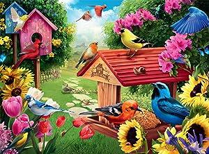 Buffalo Games - Garden Birdhouse - 1000 Piece Jigsaw Puzzle