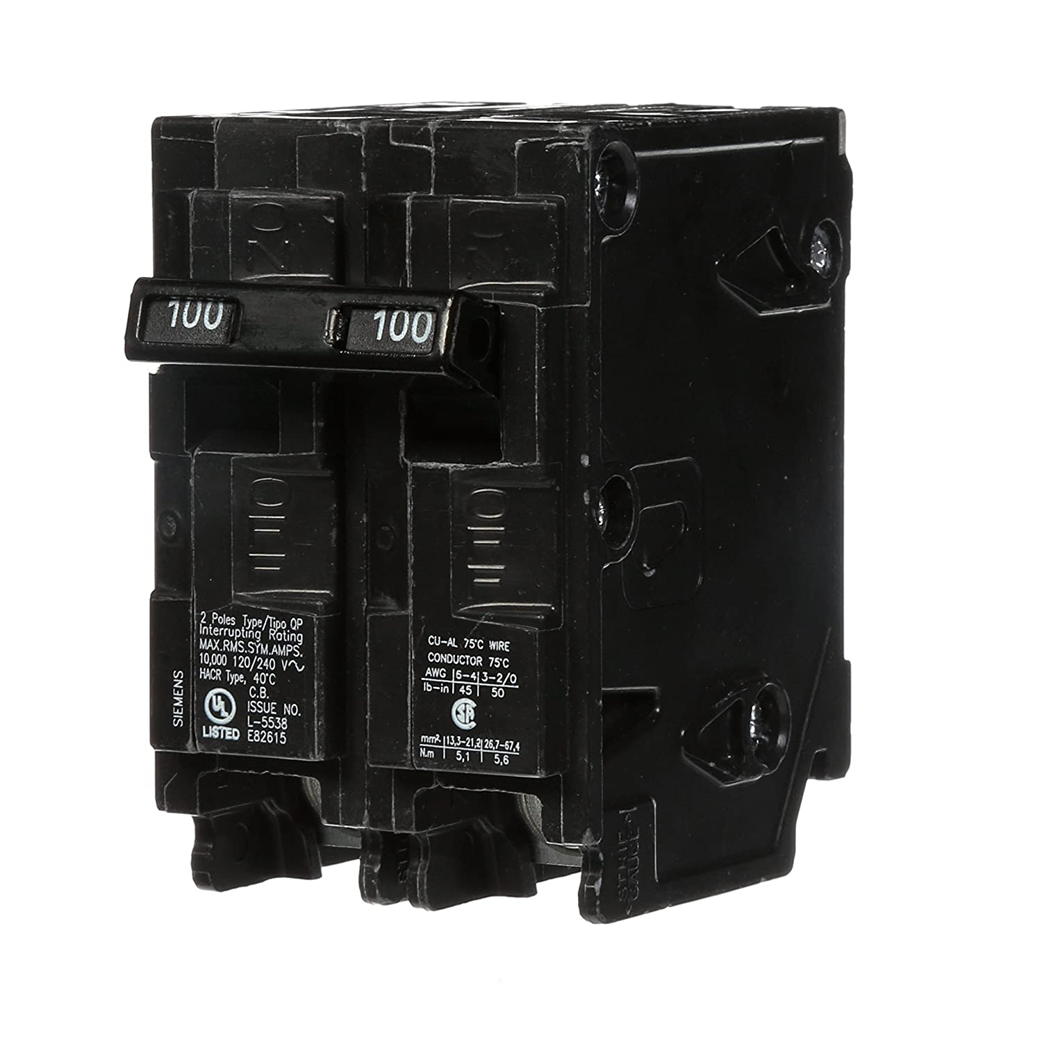 B00002N5HH Q2100 100-Amp Double Pole Type QP Circuit Breaker 81880uh0gtL