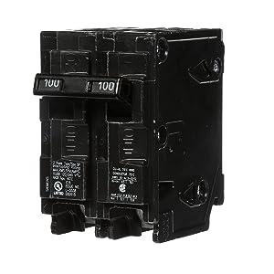 Q2100 100-Amp Double Pole Type QP Circuit Breaker