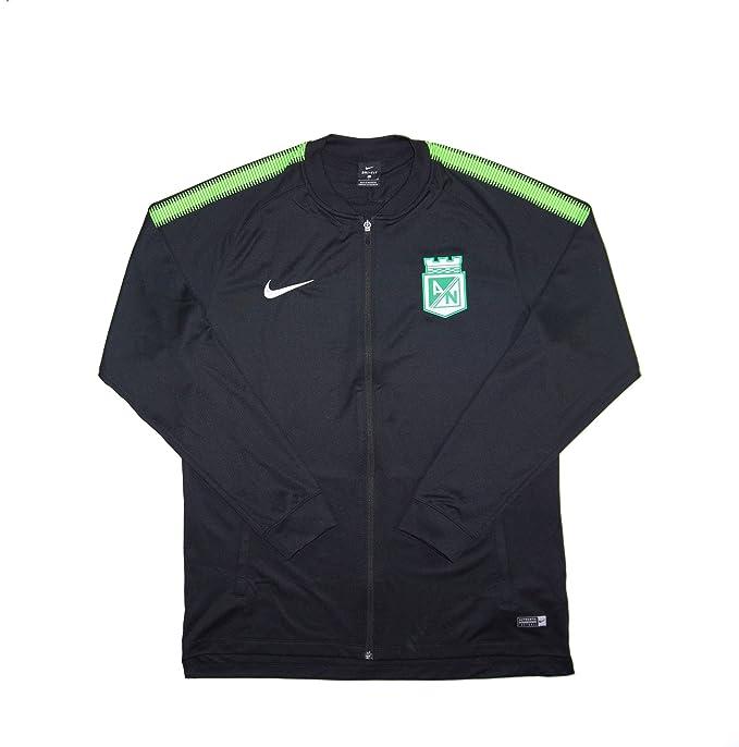 Amazon.com: Authentic Mens Official Atlético Nacional Dry Squad Tracktop Travel Jacket Large: Clothing