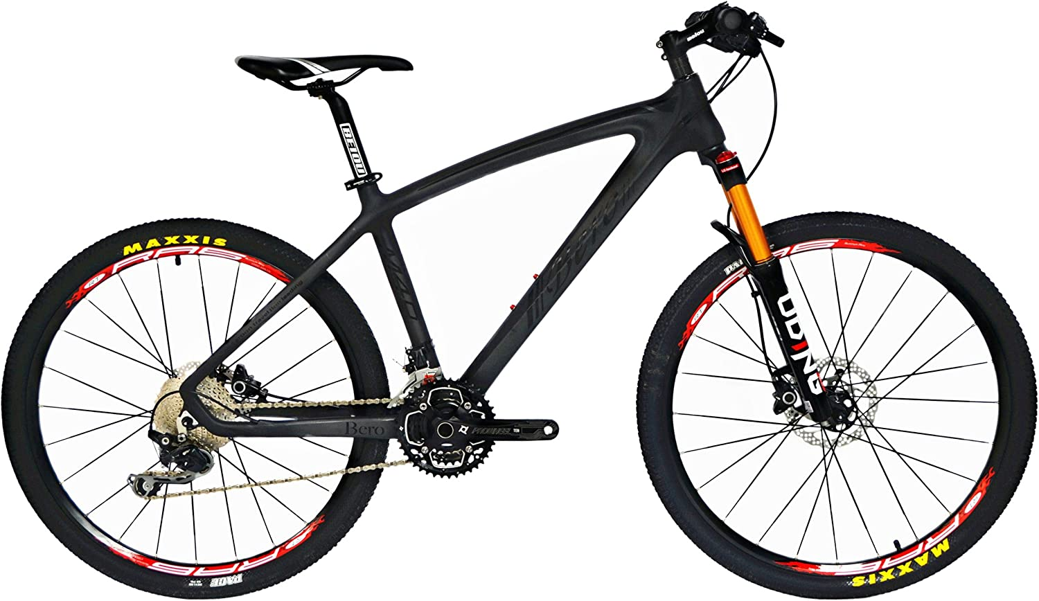 BEIOU Carbon Fiber Mountain Bike Hardtail
