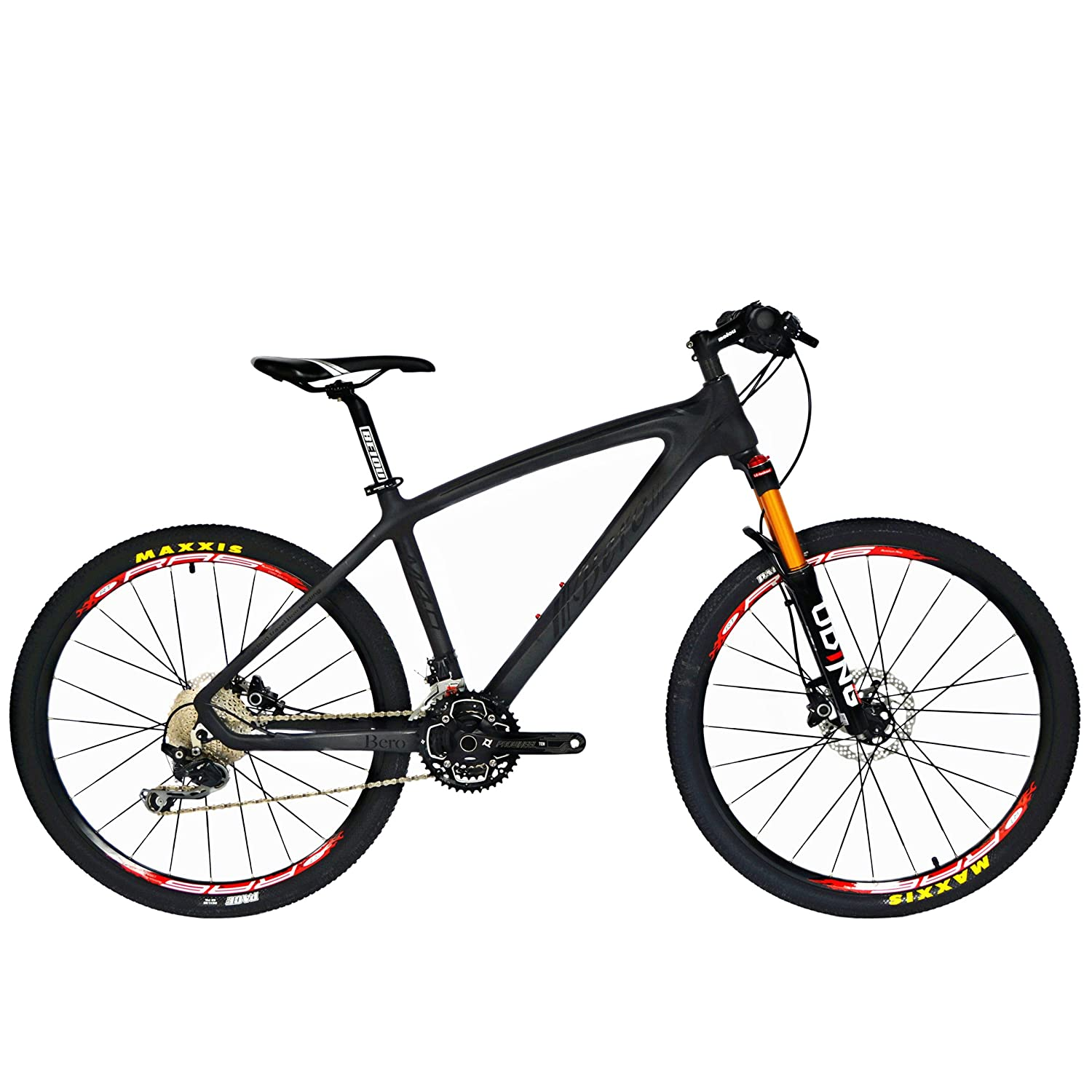 BEIOU Carbon Fiber Mountain Bike Hardtail MTB
