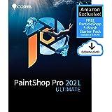 Corel PaintShop Pro 2021 Ultimate | Photo Editing & Graphic Design Software PLUS Creative Collection | Amazon Exclusive 5-Bru
