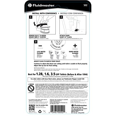 1-Pack Easy Install Adjust-A-Flush Rough Plumbing Toilet Parts prb ...