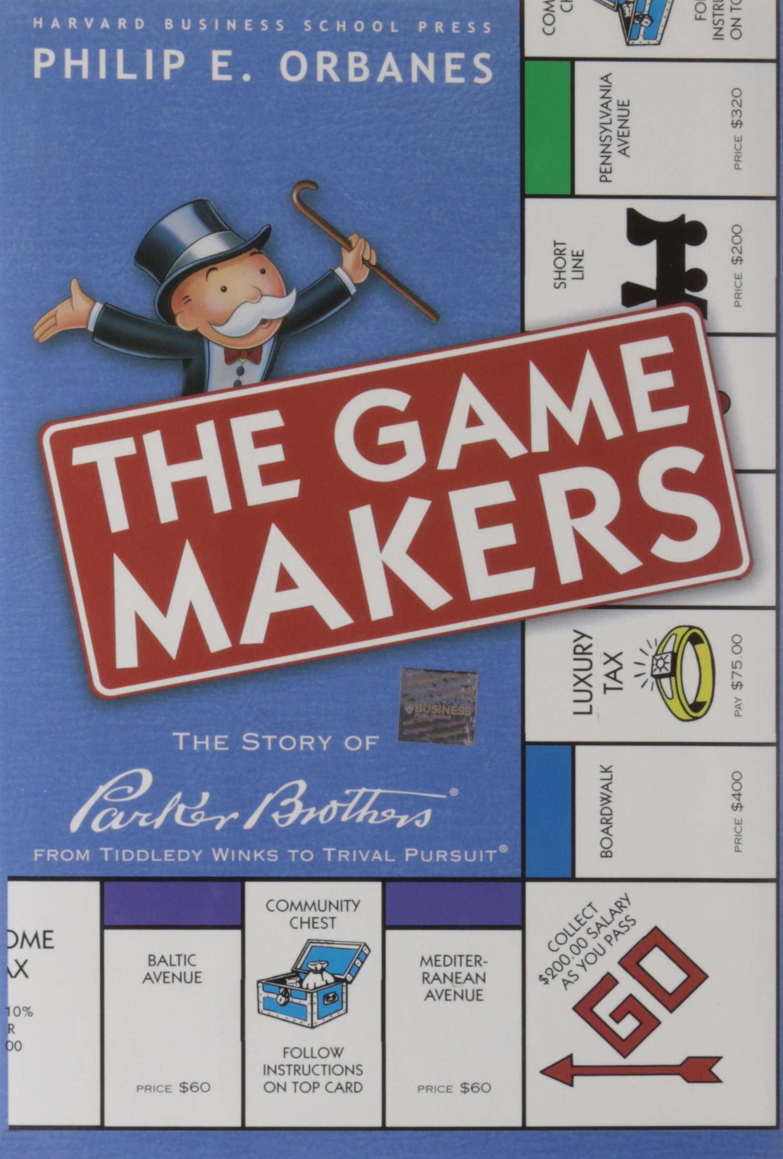 The Game Makers: The Story of Parker Brothers, from Tiddledy Winks to Trivial Pursuit: The Story of Parker Brothers, from Tiddley Winks to Trivial Pursuit: Amazon.es: Orbanes, Philip E: Libros en idiomas