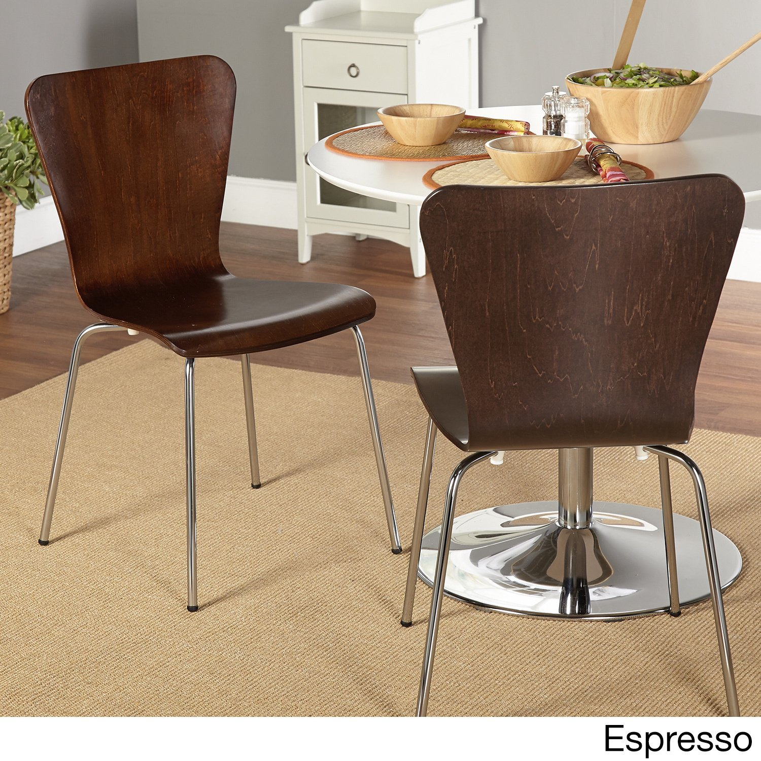 Amazon Simple Living Pisa Bentwood Stackable Dining Kitchen
