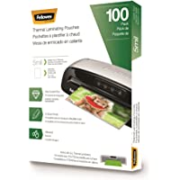 Fellowes Thermal Laminating Pouches, Letter, 5 mil, 100 Pack (5743501)