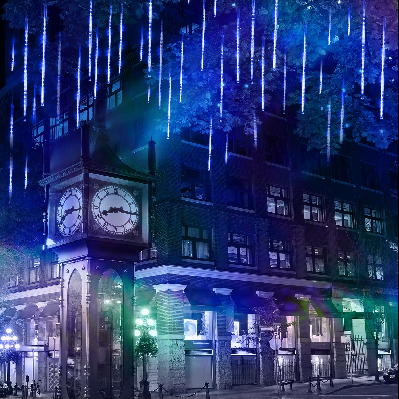 8188AZg2dPL._SL1500_ Schöne Led Eiszapfen Lichterkette Mit Schneefall Effekt Dekorationen