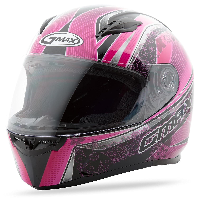 GMAX Unisex-Adult Full-face Style G7492407 TC-14 Ff49 Street Helmet Elegance Black//Pink xl X-Large