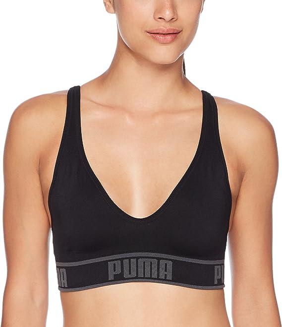 PUMA Damen Women's Solstice Seamless Bra Sport BH: