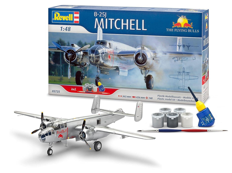 Revell 05725 - Modellbausatz - Geschenskset B-25J Mitchell, 1:48 Fly, Maßstab 1:48 Mitchell, 452bbc