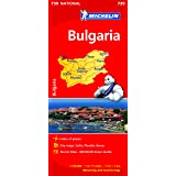 Bulgaria NATIONAL Map (Michelin National Maps)