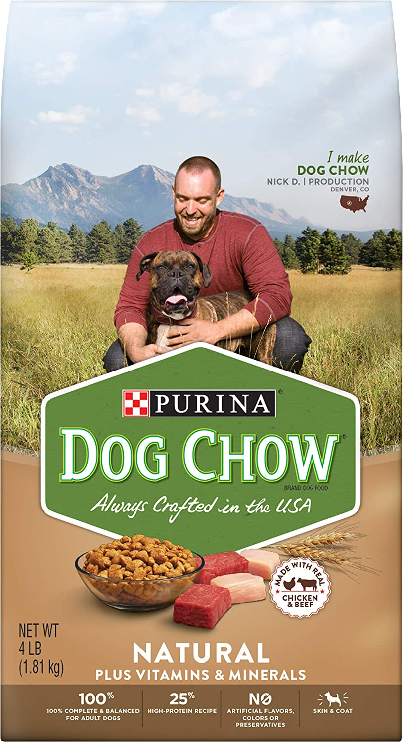 Purina Dog Chow Natural With Real Chicken & Beef Adult Dry Dog Food