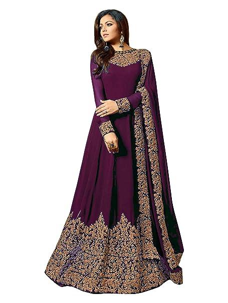 Amazon.com: Vestido indio pakistaní para mujer, estilo ...