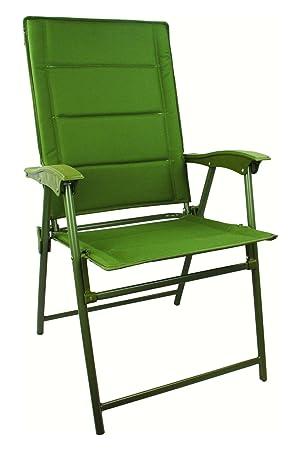 Highlander Bardow Folding Camp Chair   Olive Green
