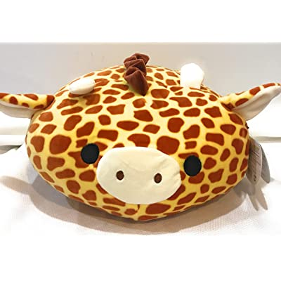 "Squishmallows 12"" Stackable Plush Pillow Animal (Giraffe): Toys & Games"