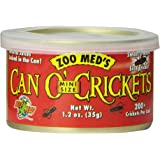 Zoo Med Can O' Crickets Insect Food, 1.2-Ounce