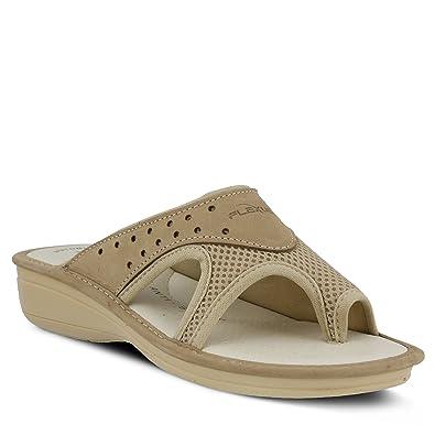 890d280ae0028 Amazon.com | Flexus Pascalle Slide Sandal | Mules & Clogs