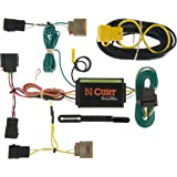 curt 55050 vehicle-side custom 4-pin trailer wiring harness for select  dodge caliber