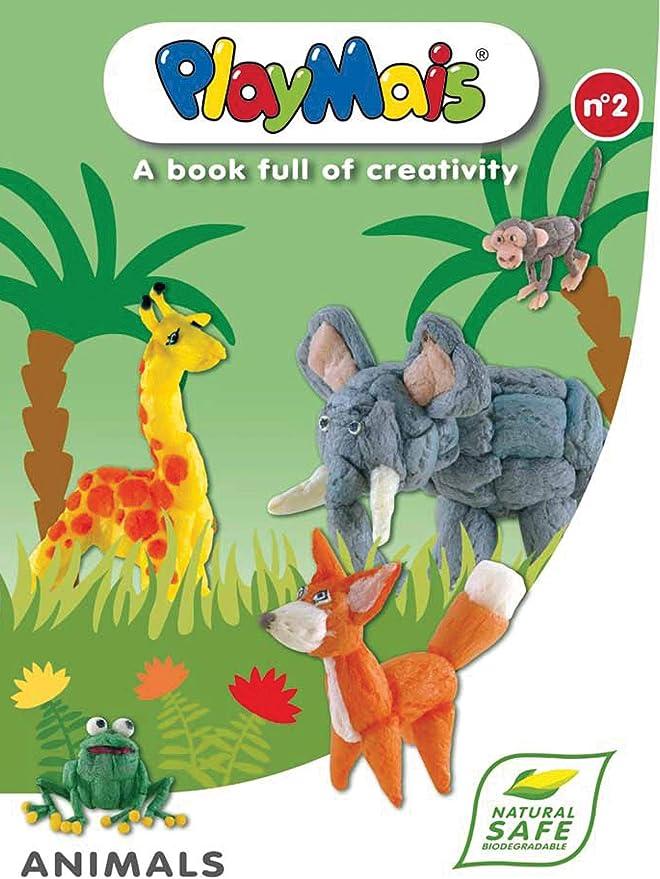PlayMais 4512 - Collage: Libro de creación de Animales: ANAËL DENA ...