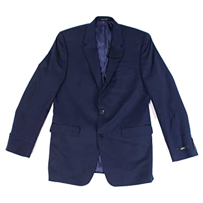 Alfani Mens Regular Fit Wrinkle Resistant Two-Button Blazer at Men's Clothing store