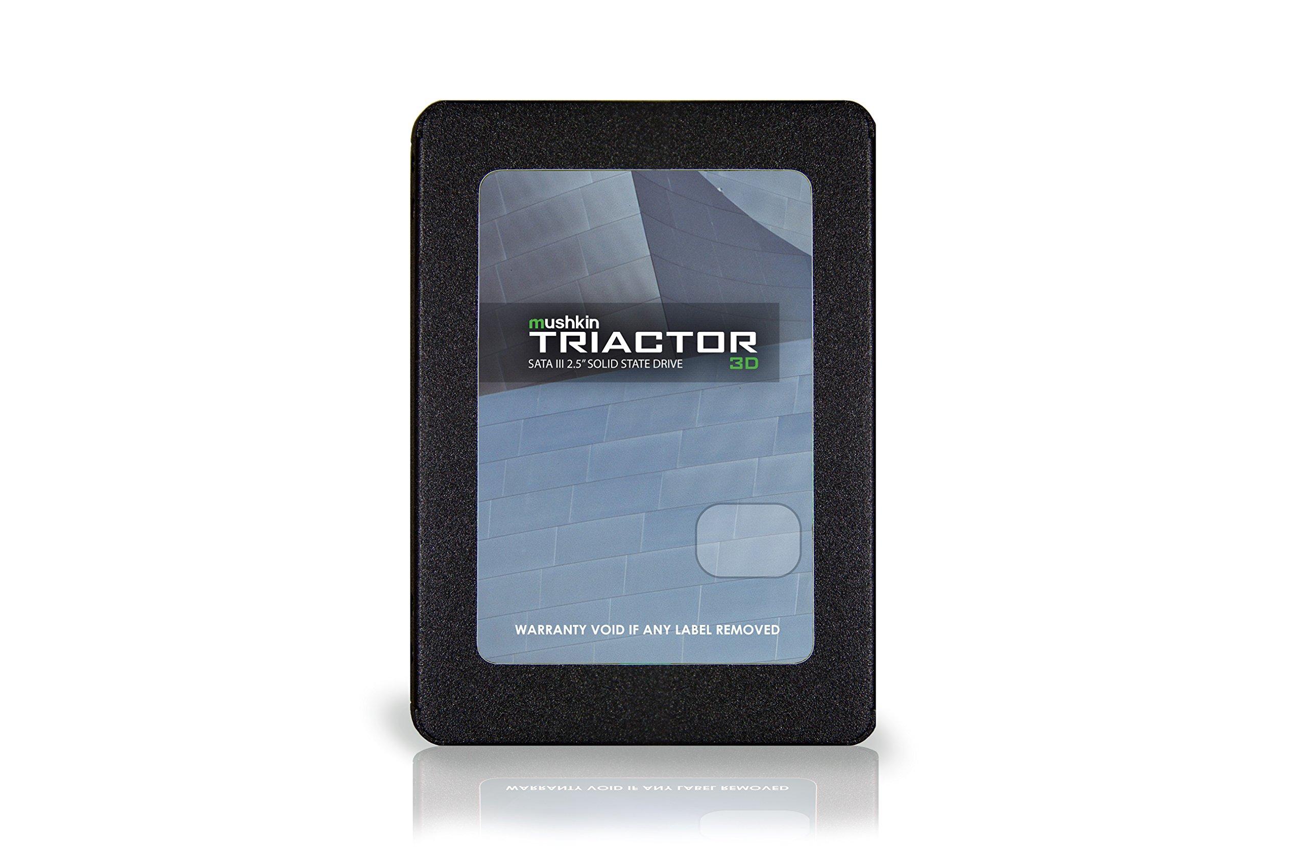 Mushkin TRIACTOR-3DL - 500GB Internal Solid State Drive (SSD) - 2.5 Inch - SATA III - 6Gb/s - 3D Vertical TLC - 7mm (MKNSSDTR500GB-3DL)