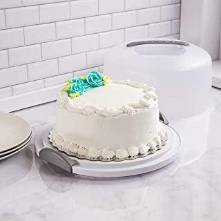product image for Sterilite Cake Server See-Through Lid, White Base, 4-Pack