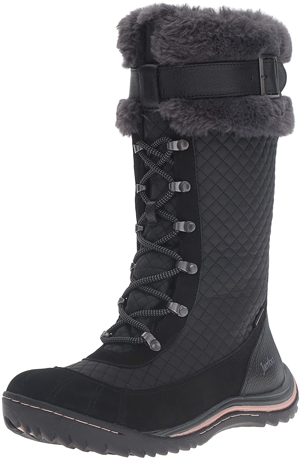 Jambu Women's Williamsburg Snow Boot B019SD5KCC 7 B(M) US|Black