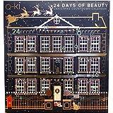 Q-KI 24 Days of Beauty Christmas Countdown Advent Calendar (Large Size)