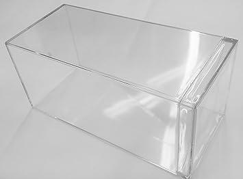 DIECAST DISPLAY CASE Caja expositora de acrílico Transparente ...