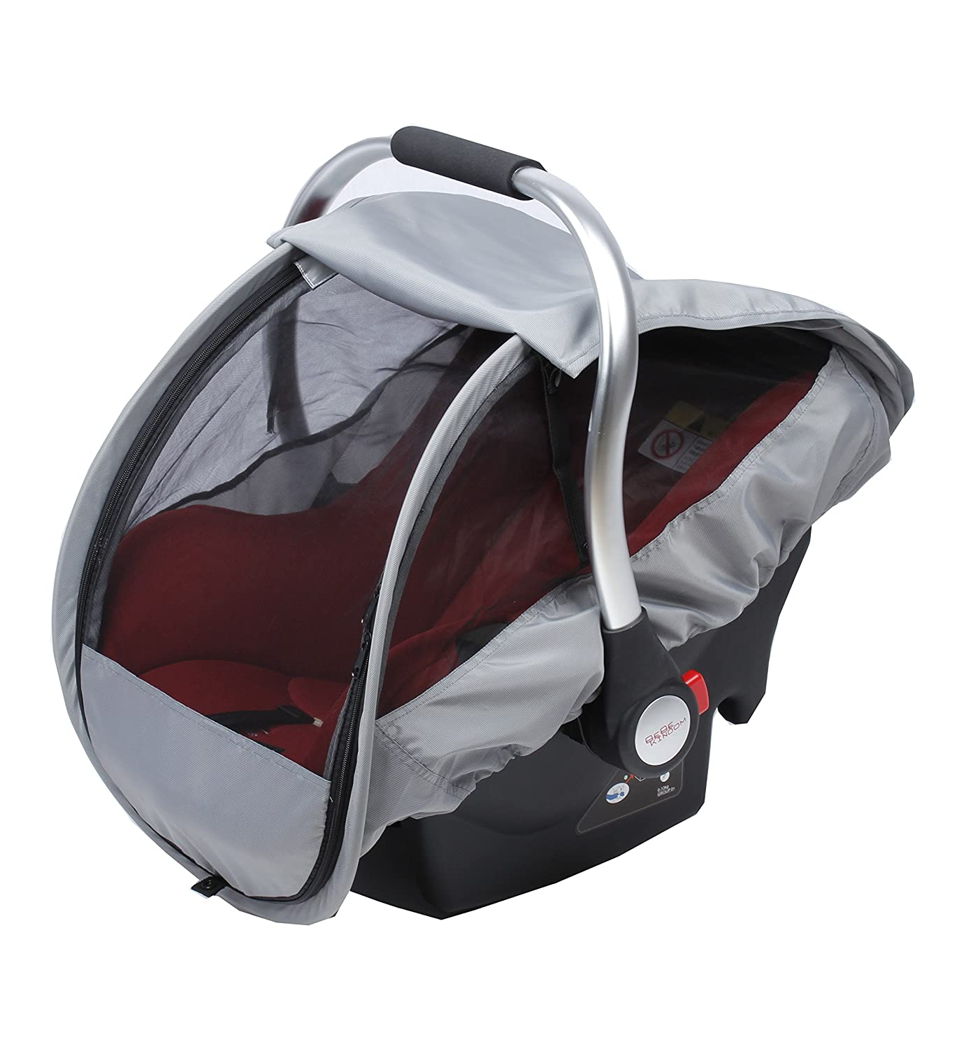 3 in one cover, sun shade, rain cover and insect net, universally fitting rain cover, sun shade for baby carrier 3 in one cover Ockalino