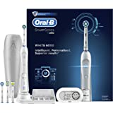 Oral-B Smart Series 6000 CrossAction Electric Rechargeable Toothbrush with Bluetooth Connectivity Powered by Braun (Packaging May Vary) - Ships with 2 pin UK plug
