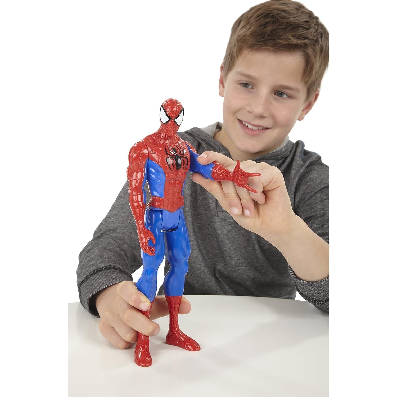 Amazon Spider Man Marvel Ultimate Titan Hero Series Figure 12 Inch Toys Games
