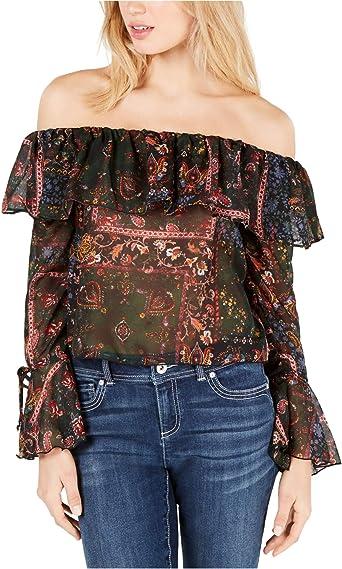 womens off the shoulder top medium