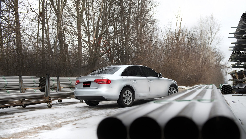 Amazon com: Corsa 14532 Cat Back Exhaust (Audi A4 B8 2 0L Turbo
