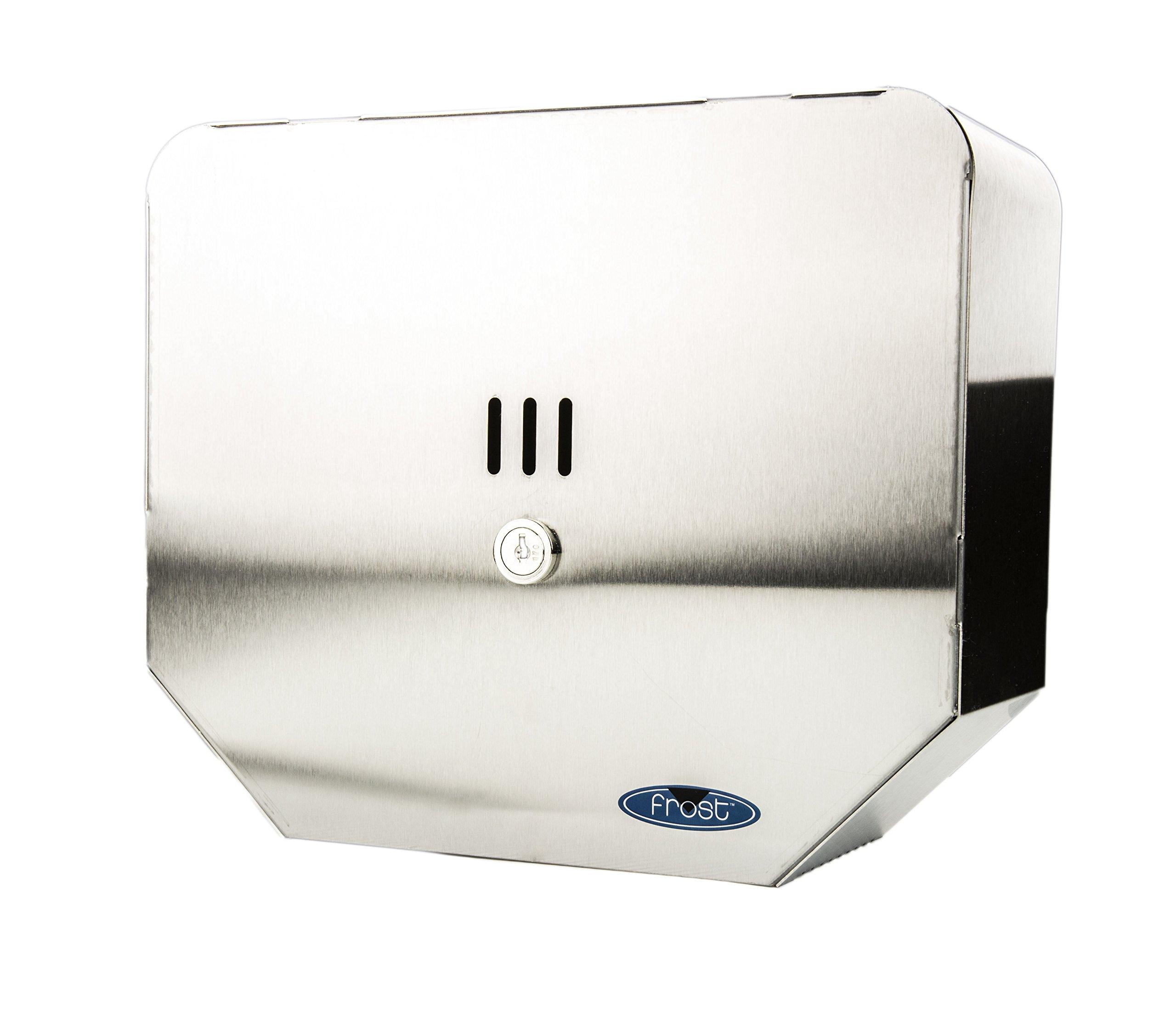 Frost 166-S Toilet Paper Dispenser, Metallic