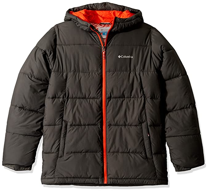 Columbia Youth Pike Lake Jacket, Waterproof & Breathable, X-Small, Grill