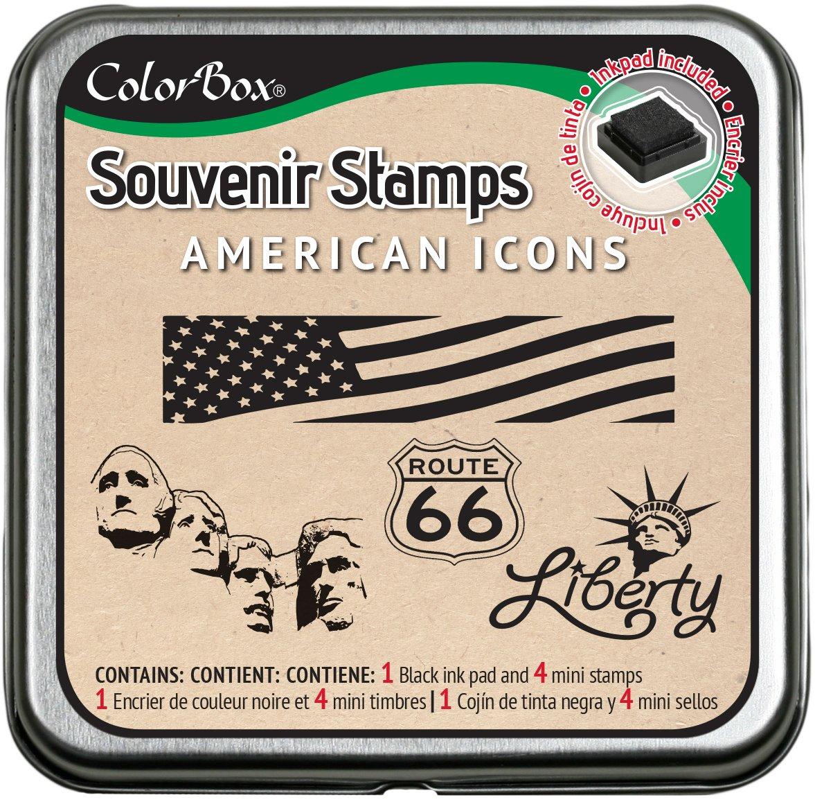 Paris CLEARSNAP ColorBox Souvenir Stamps